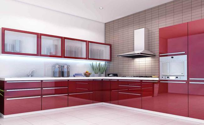 современная кухня глянец