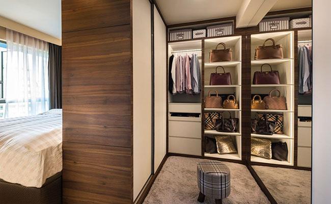 встроенный шкаф гардероб