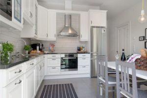 кухня L-образная